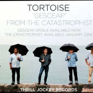 シカゴのポスト・ロックバンド Tortoise、実に7年ぶり通算7作目となるニューアルバム『The Catastrophist』を来年 1/22 リリース!
