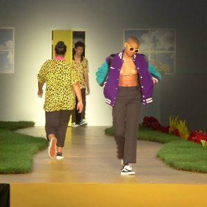 LAのヒップホップ集団 OFWGKTA のリーダー Tyler The Creators がデザインするファッション・ブランド GOLF のファースト・ランウェイ!