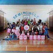 The Go! Team が通算5枚目となるニューアルバム『SEMICIRCLE』を来年 1/19 リリース!