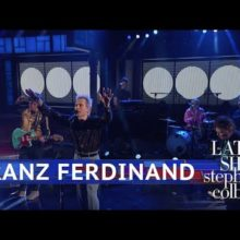 Franz Ferdinand、米のTV番組 The Late Show に出演したライブ映像公開!