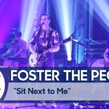 Foster the People、米のTV番組 The Tonight Show に出演したライブ映像公開!
