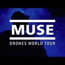 MUSE、7/12 に世界各地の映画館で一夜限り公開される映画『Drones World Tour』の予告映像公開!