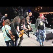 Foo Fighters、イタリアのフェスでガンズ・アンド・ローゼズと共演したライブ映像公開!
