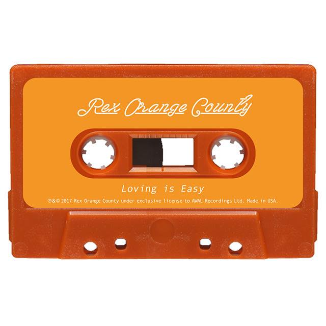 オレンジ・カセットテープ