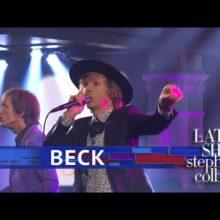 Beck、米のTV番組 The Late Show に出演したパフォーマンス映像公開!