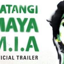 M.I.A. 9月下旬公開のドキュメンター映画『MATANGI / MAYA / M.I.A.』の予告映像公開!