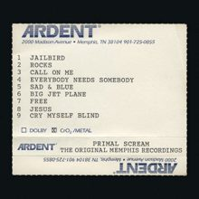 Primal Scream、失われたメンフィス録音のオリジナル音源『The Original Memphis Recordings』を日本先行リリース!