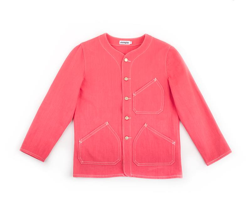 CORAL DENIM SHOP COAT