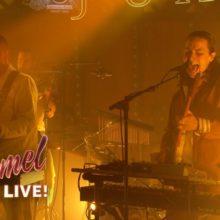 ロンドンのソウルバンド Jungle が米のTV番組 Jimmy Kimmel Live に出演!