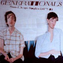 USインディーポップ・デュオ Generationals が新作『State Dogs: Singles 2017-18』を 12/7 リリース!
