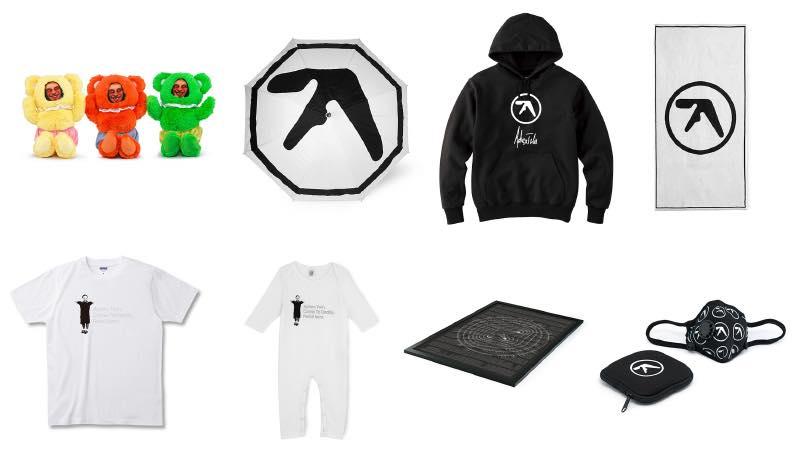 Aphex Twin (エイフェックス・ツイン) ポップアップストア・アイテム