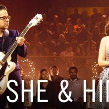 She & Him、米のTV番組 The Late Late Show に出演したパフォーマンス映像が公開!