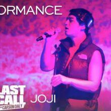 88rising の Joji、米のTV番組 Last Call に出演したパフォーマンス映像が公開!