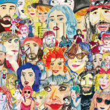 シアトルのポップパンク・バンド Tacocat、ニューアルバム『This Mess is a Place』を 5/3 リリース!
