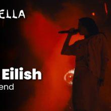 Billie Eilish、コーチェラに出演した「bury a friend」など3曲のパフォーマンス映像が公開!