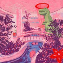 サウス・ロンドンのアーティスト Jerkcurb、待望のデビューアルバム『Air Con Eden』を 9/13 リリース!
