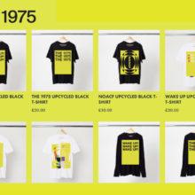 The 1975、話題のリプリントTシャツのオンライン販売を開始!