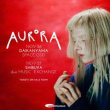 ノルウェーの新世代アーティスト AURORA、の単独公演が11月に決定!