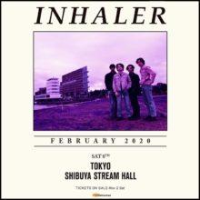 アイルランド出身のロックバンド Inhaler (インヘイラー) の初来日公演が決定!