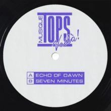 カナダのシンセポップ・バンド TOPS、7インチ・シングル「Echo of Dawn / Seven Minutes」をリリース!