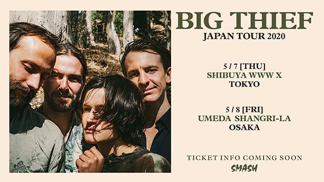 Big Thief の初来日公演