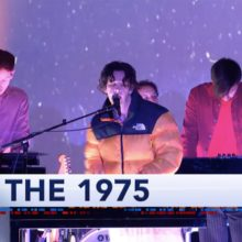 The 1975、米のTV番組 The Late Show に出演した新曲「Frail State Of Mind」を披露!