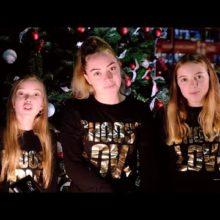 ロンドンの3姉妹、Honey Hahs がクリスマス・シングル「Golden Christmas」のMV公開!