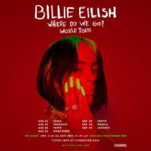 Billie Eilish (ビリー・アイリッシュ) の来日公演が 9/2 横浜アリーナにて決定!