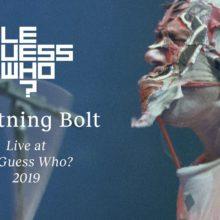 爆裂ノイズロック・デュオ Lightning Bolt、オランダのフェスに出演したライブ映像公開!