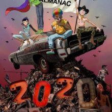 Gorillaz、イヤーブック『ALMANAC』リリースを発表!併せて『Season One of Song Machine』を10月リリースを示唆