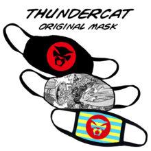 Thundercat (サンダーキャット) のオリジナルマスクが登場!