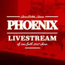 PHOENIX、2017年にパリのアリーナで開催したライブ映像の配信が決定!