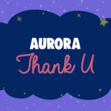 AURORA、女性たちを称えるコンピに参加した新曲「Thank U」のリリックビデオを公開!
