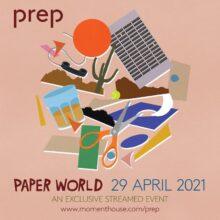 ロンドンのシティポップ・バンド PREP、ストリーミング・ライヴ『Paper World』を 4/29 (木・祝) 開催決定!